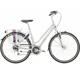 Trek T300 Midstep Blx, Light Silver/pearl White