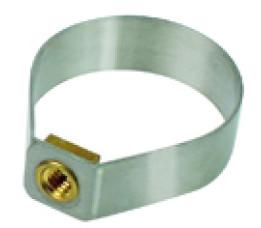 Klickfix Rixen & Kaul Klickfix Zadelpen-adapter Voor Contour-tassen, Strop, Passend Voor