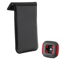 Klickfix Rixen & Kaul Mobiele Telefoon Tas Phone Bag Met Quad Adapter, Zwart De